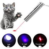 Tacobear Cat Toys 3 in 1 USB Charging Catch Interactive LED Light Exercise Cat Training Tool