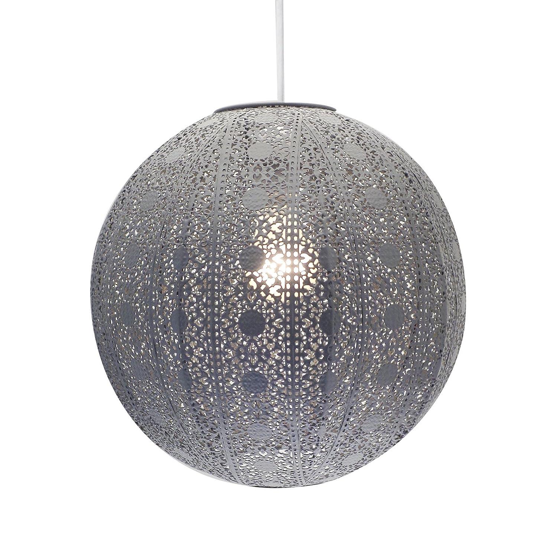 Moroccan style chandelier dark grey ceiling light shade fitting moroccan style chandelier dark grey ceiling light shade fitting universal arubaitofo Gallery