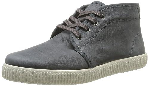 Chukka Piel - Zapatillas de Deporte de cuero Unisex, color gris, talla 41 Victoria