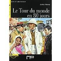 Le Tour Du Monde En 80 Jours+cd (Chat Noir. Lire Et S'entrainer)