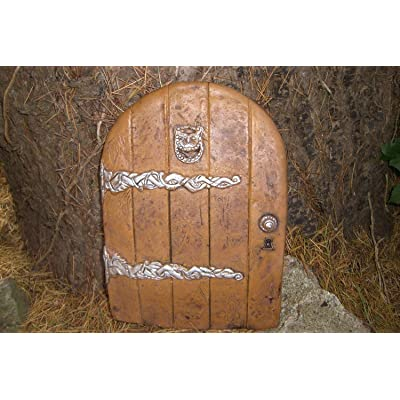 LARGE GARDEN FAIRY/HOBBIT DOOR IDEAL FOR GARDENS AND BOTTOM OF TREES by Penfound: Home & Kitchen