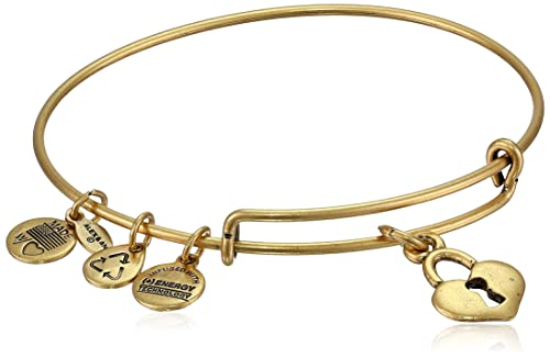 Alex and Ani Bangle Bar Key to My Heart Expandable Bracelet, 7.75""