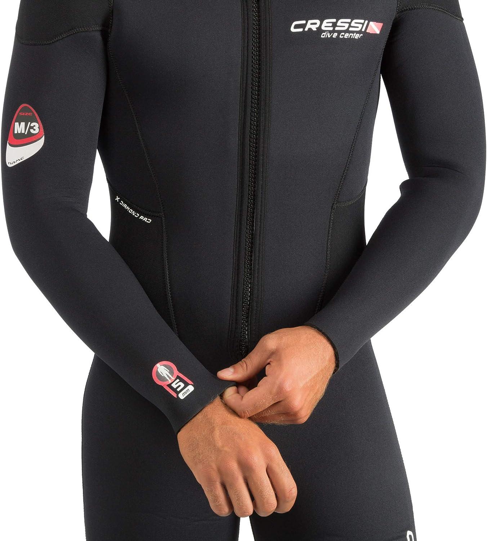 Cressi Endurance Man Monopiece Wetsuit 5mm Herren Overall Tauchanzug Aus 5mm Neopren F/ür Taucher Und Schnorchler