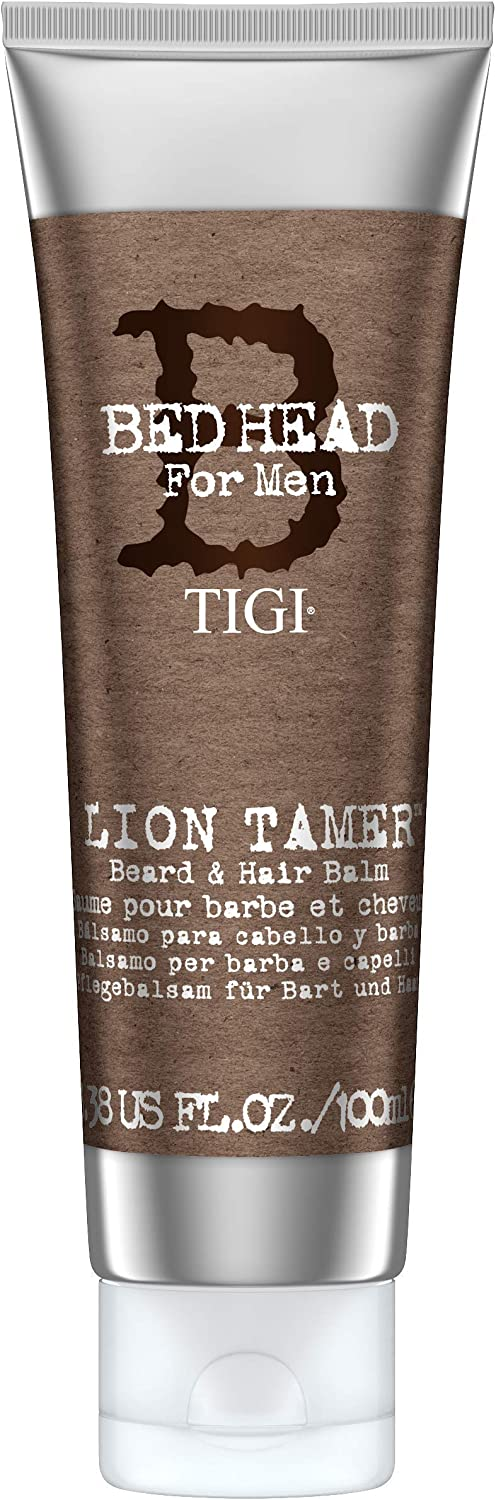 Bed Head for Men by Tigi Lion Tamer Mens Beard Balm for Beard Care 100 ml