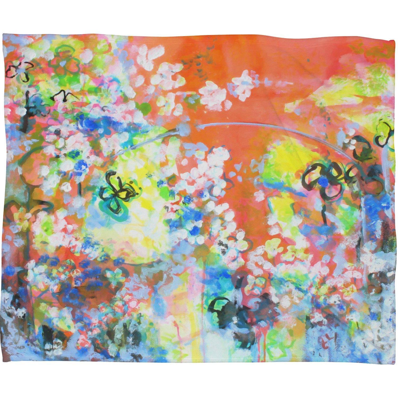 30 x 40 Deny Designs Laura Trevey Coral Delight Fleece Throw Blanket