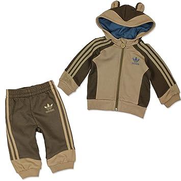 02ce272346b4 adidas Originals Children Suit Hooded Flock Monkey - Brown