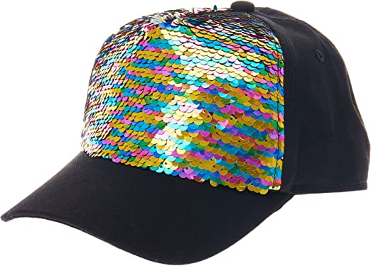 sequin baseball cap wholesale caps uk rainbow reversible it womens