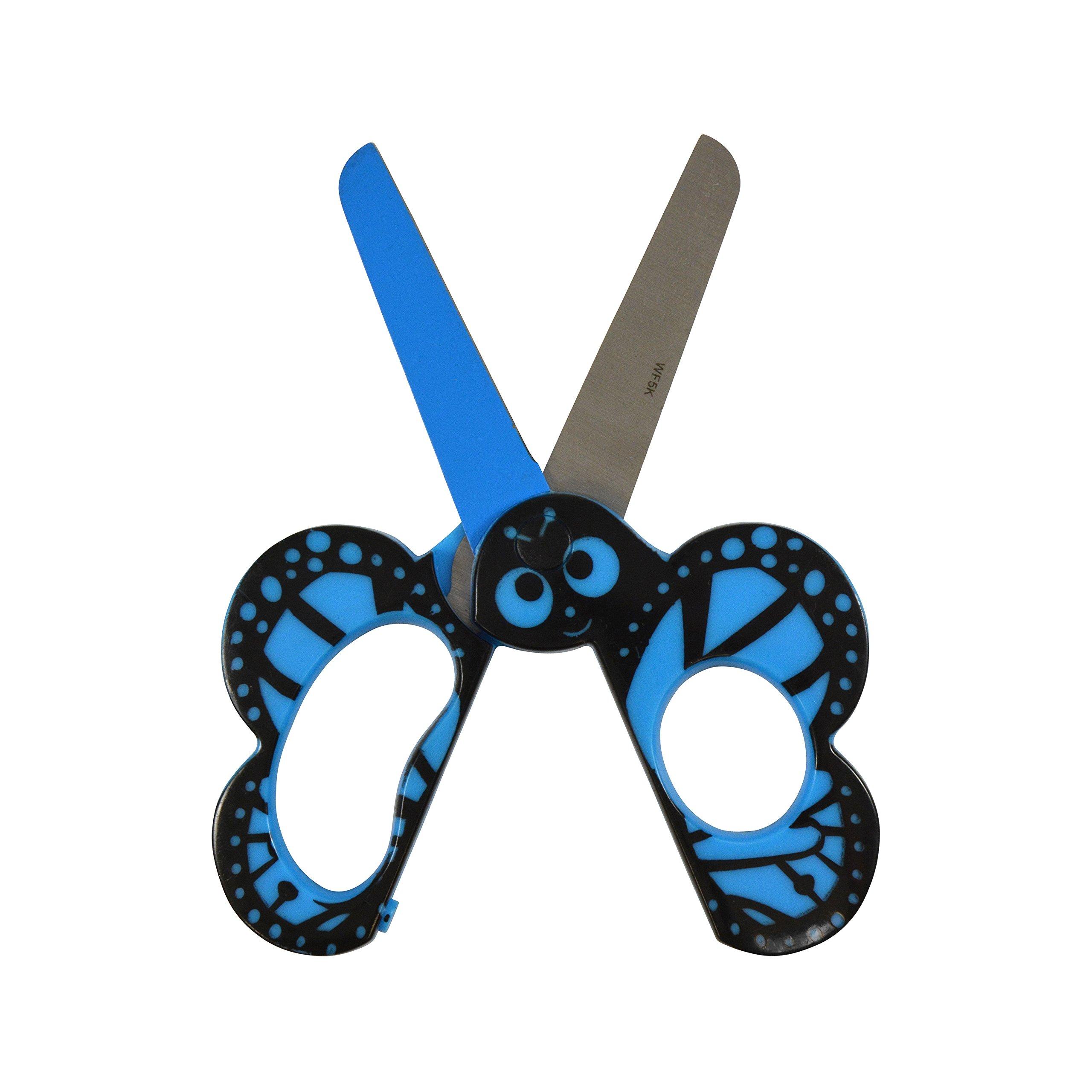Westcott Kids Critters Scissors, Butterfly, Case of 72 (500-16209) - 5'' by Westcott (Image #2)