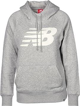 New Balance WT73526 W Sudadera con capucha athletic grey: Amazon.es: Deportes y aire libre