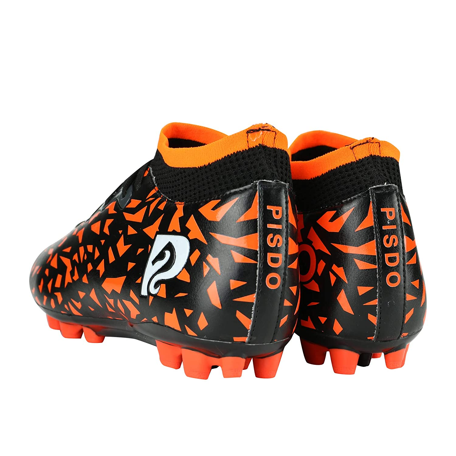 PISDO Mens Soccer Shoes High Ankle Athletic Football Soccer Boots Cleats for Women and Men
