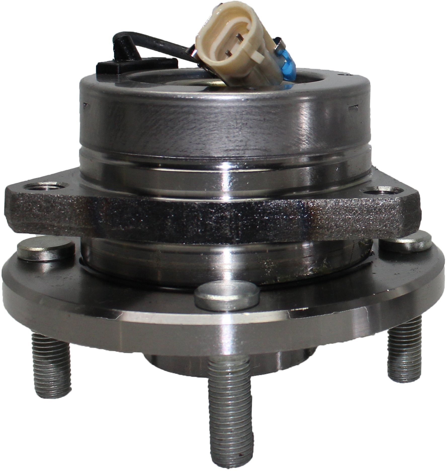 Brand New Front Wheel Hub and Bearing Assembly for 2004-06 Chevy Epica, Suzuki Verona 4 Lug W/ABS 513250 by Detroit Axle