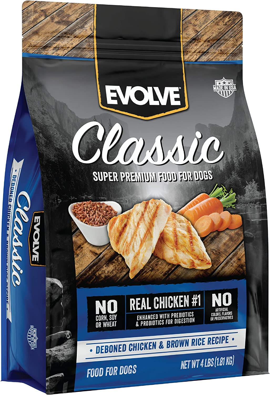 Evolve Super Premium Grain Free Dog Food Diets Deboned Chicken & Rice