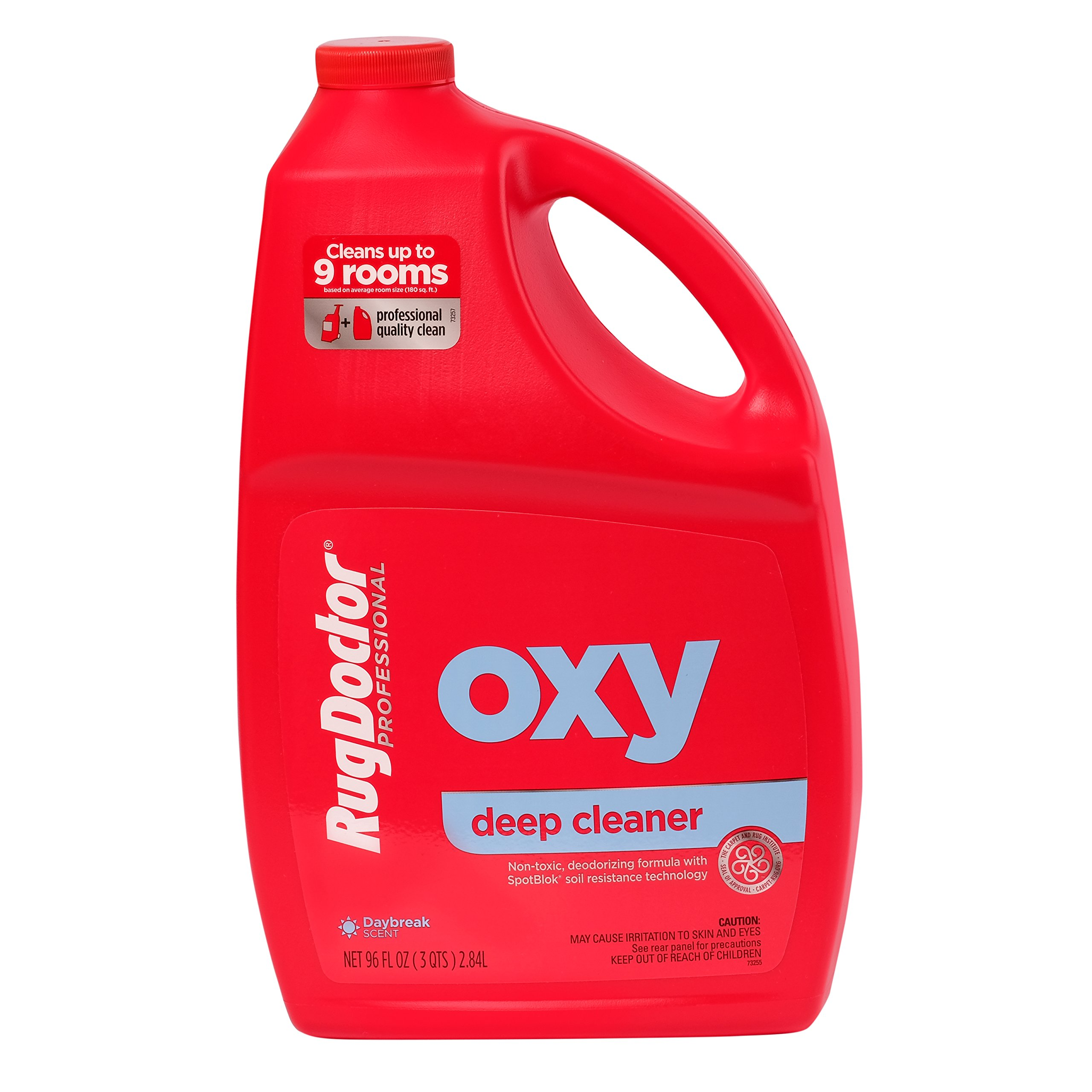Rug Doctor Oxy Deep Cleaner Solution for Rental Cleaners, Non-Toxic Deodorizing Formula with Oxygen Power to Lift Stains and Spots, 96 oz. by Rug Doctor (Image #3)