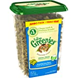 FELINE GREENIES Dental Treats For Cats Tempting Tuna Flavor 12 oz. With Natural Ingredients Plus Vitamins, Minerals, And Other Nutrients