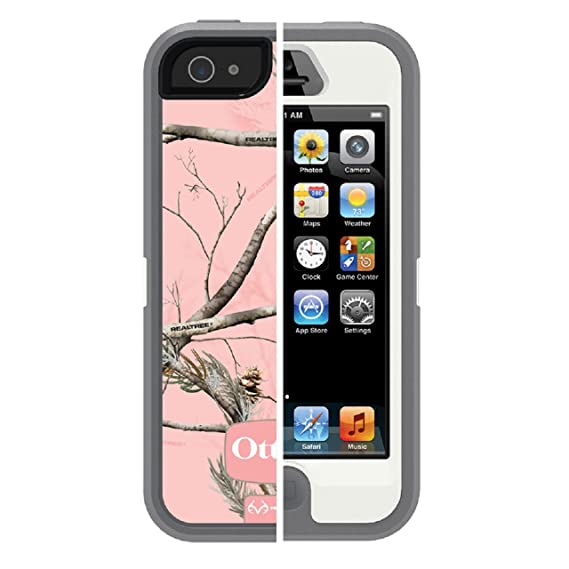 low priced 3a261 eced5 OtterBox [Defender Series] Case for iPhone 5 - (Not for iPhone 5C or 5S /  SE)(Discontinued by Manufacturer) - Realtree Camo - AP Pin