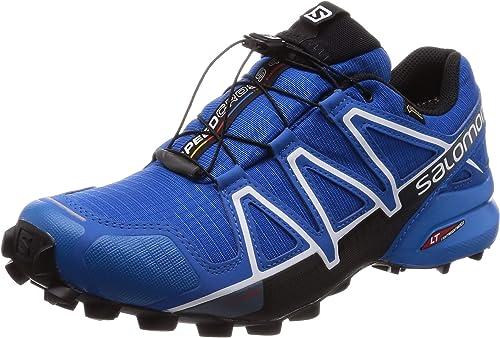 Salomon Speedcross 4 GTX, Zapatillas de Trail Running para Hombre, Azul (Sky Diver/Indigo Bunting/Black), 42 EU: Amazon.es: Zapatos y complementos