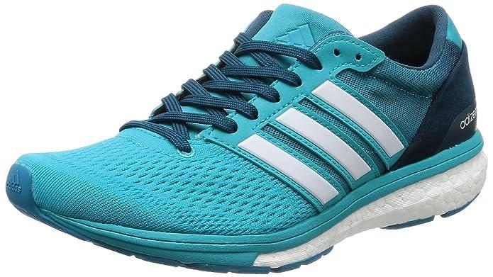 official photos aa8ca 887e5 adidas Womens Adizero Boston 6 W Sneakers Multicolour Size 10.5 UK  Amazon.co.uk Shoes  Bags