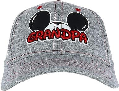 Disney Men's Mickey Mouse Grandpa Fan Baseball Cap