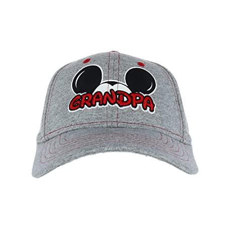 Disney Men's Mickey Mouse Grandpa Fan Baseball Cap