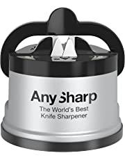 AnySharp ASKSSIL Classic Knife Sharpener, Silver