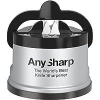 AnySharp ASKSSIL Classic Knife Sharpener, Silver