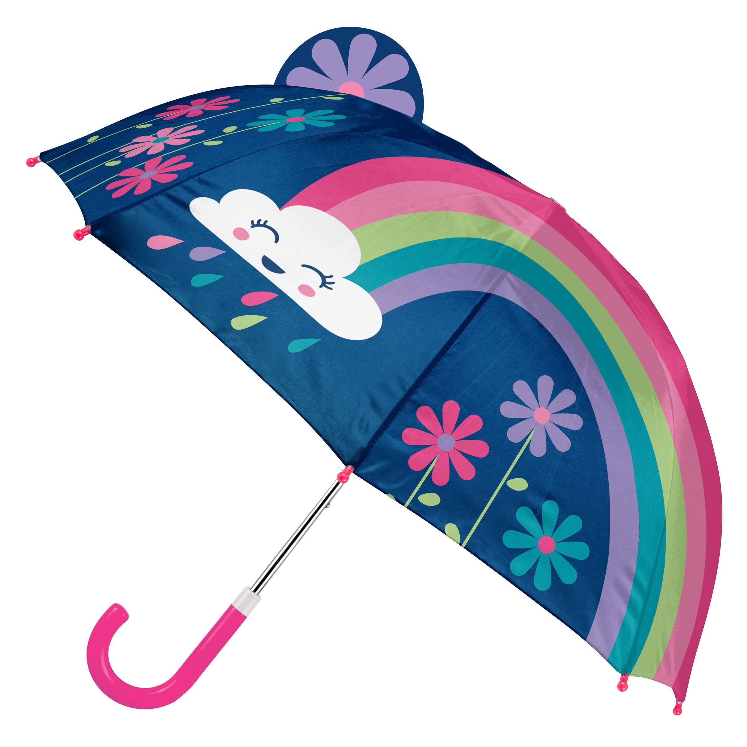 Stephen Joseph Kids' Toddler Pop Up Umbrella, Rainbow by Stephen Joseph