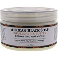Nubian Heritage Shea Butter Infused with African Black Soap Extract for Unisex Lotion 4 oz