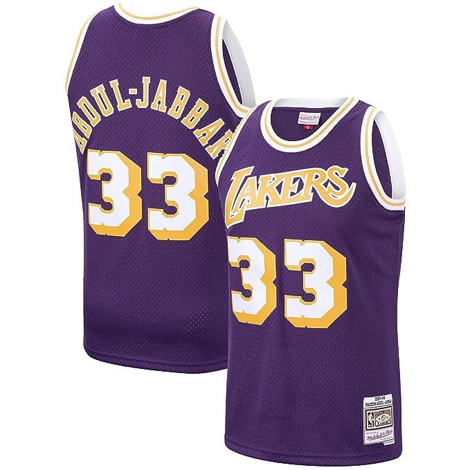 new product 09de1 ba0d9 Amazon.com: Kareem Abdul-Jabbar Los Angeles Lakers 1983-84 ...