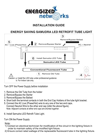 Fsl Wiring Led Tube - Wiring Diagram General