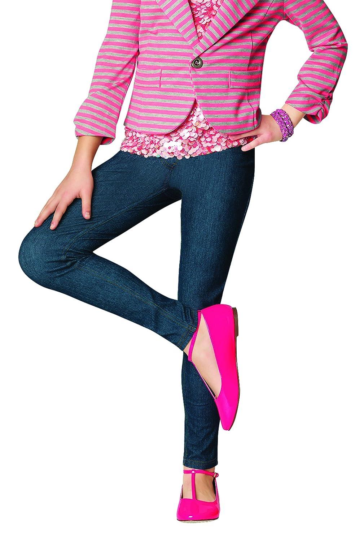 HUE Girls Big Original Denim Jean Leggings UG13480