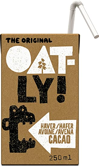 Oatly Bebida Avena con Chocolate - 250 ml