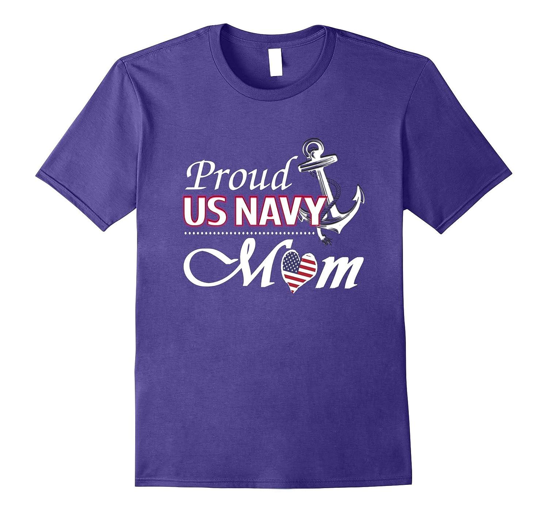 Proud US Navy Mom Shirt-BN