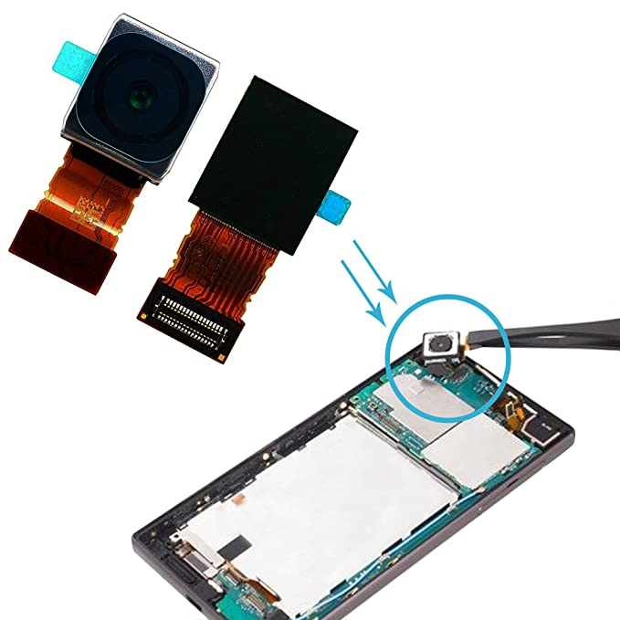 Alovexiong 23MP Big Main Camera Rear Back Camera Module Flex Cable  Replacement Compatible for Sony Xperia XZ,Z5,Z5 Premium,Z5 Compact,X,X  Performance