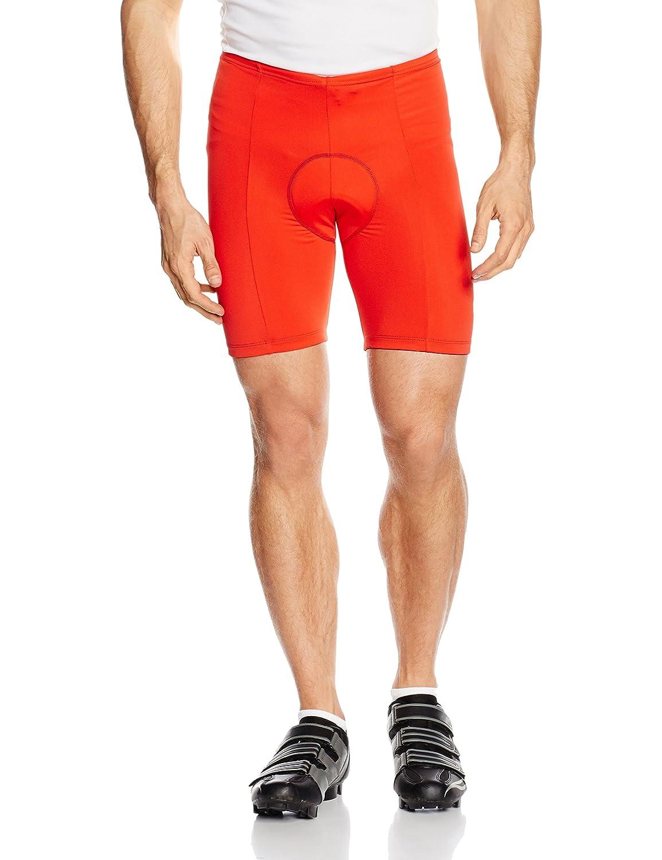 GONSO Radhose Cancun aus 80% PA 20% EL für Herren, gepolsterte, formBesteändige Fahrradhose  Bermuda  Shorts mit Kordel, Reflektoren, nahtfrei