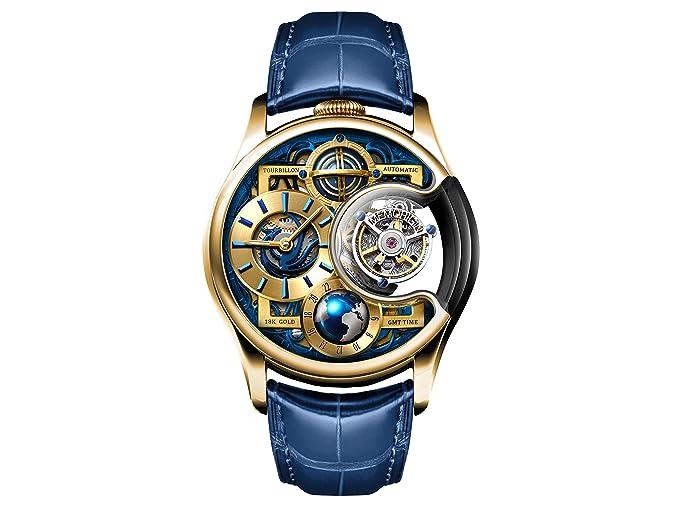 memorigin reloj tourbillon Imperial Stellar serie oro: Amazon.es: Relojes