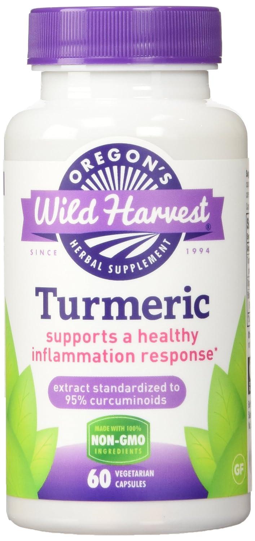 Oregons Wild Harvest, Turmeric, 60 Veggie Caps