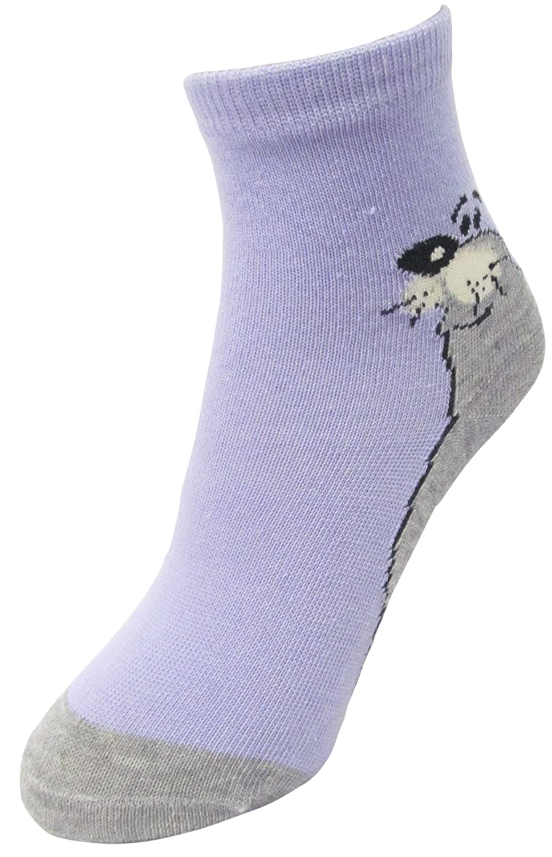 Girls 12 Pair Pack Seal Design Socks Assorted Colors