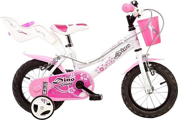 Dino Bikes 126 RSN Bicicleta 12 con Ruedas, Cesta eaccessorio ...