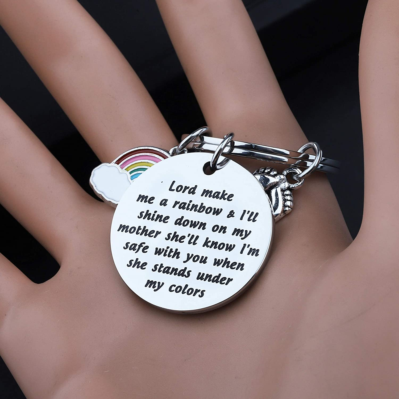 gaixample.org Pendants & Coins Women KUIYAI Rainbow Baby Gift for ...