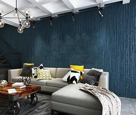 Modern Fashion Non-Woven Schaum Streifen Tapete Schlafzimmer ...