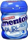 Mentos Chicle Sin Azúcar Pure Fresh Bote con Sabor a Menta - 6 unidades de 60 gr/ud