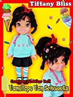 Custom Vanellope von Schweetz Wreck it Ralph Disney Princess Toddler Doll How To Toy Tutorial