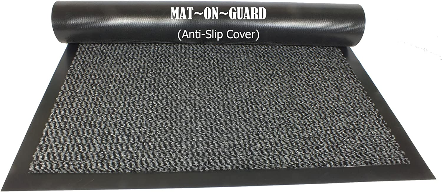 Blue /& Black Mat-On-Guard Carpeted Protective Cover Mat for Mat-On-Guard Products