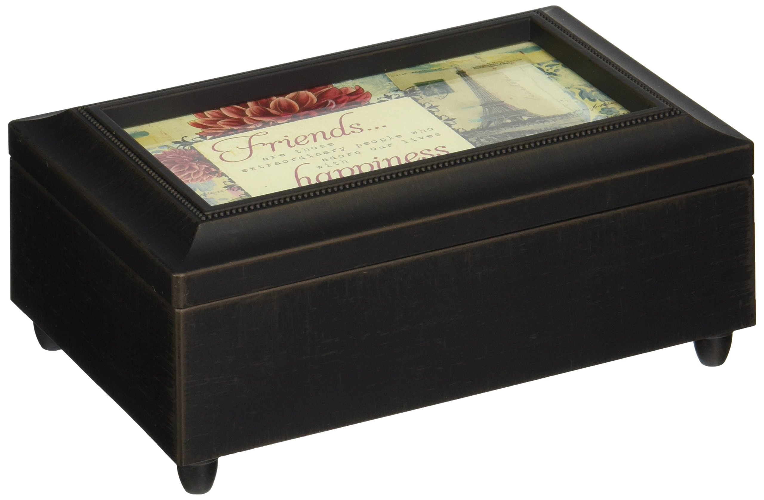Carson Home Accents Friends/Happiness Music Box