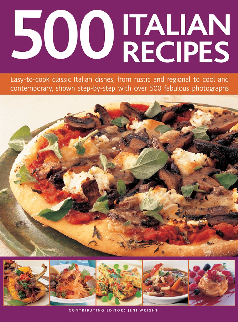 Read Online 500 Italian Recipes: Easy-To-Cook Classic Italian Dishes, From Rustic And Regional To Cool And Contemporary, Shown Step-By-Step With Over 500 Fabulous Photographs pdf