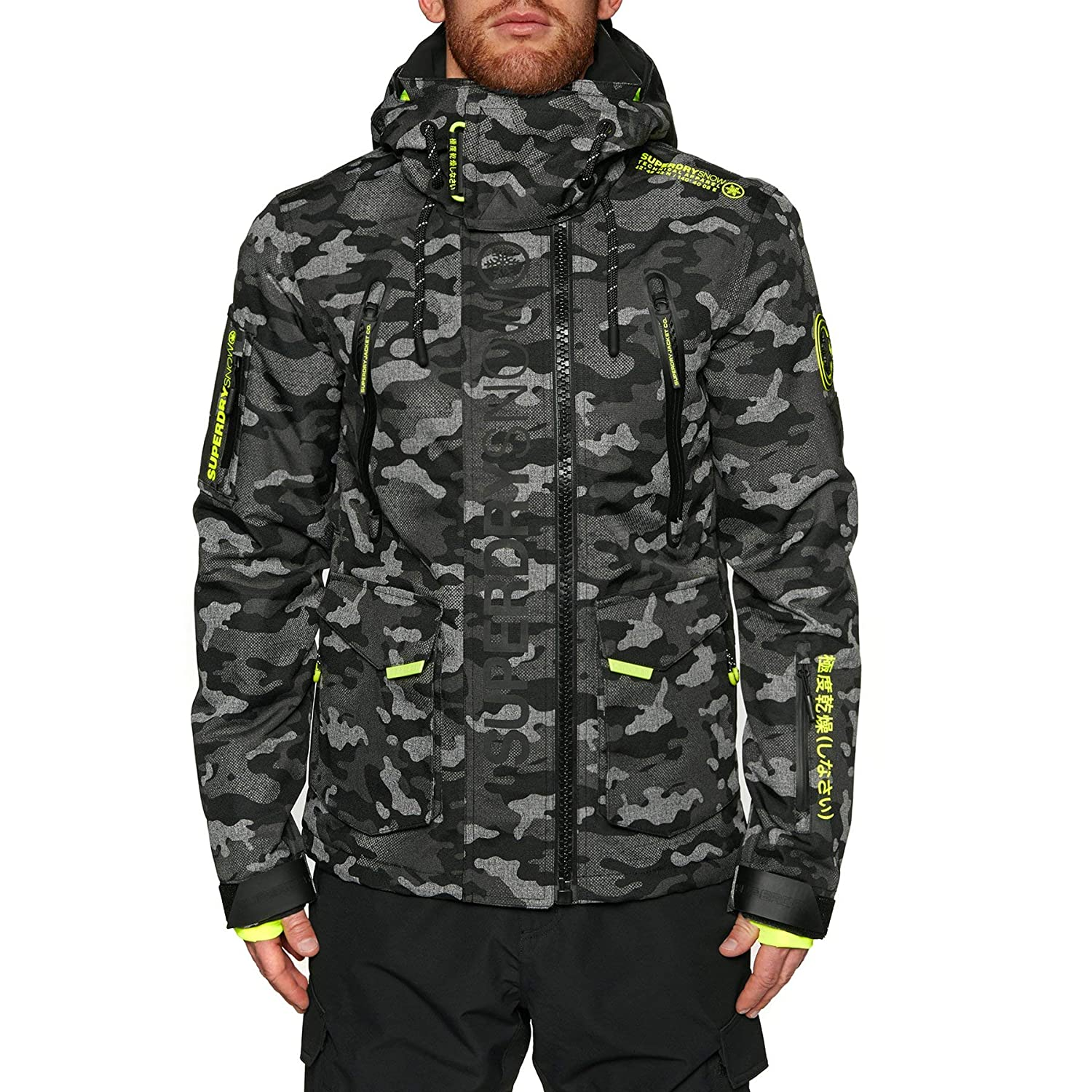 1cfb0e8eab321 Superdry Ultimate Snow Rescue Snow Jacket Small Contrast Camo:  Amazon.co.uk: Clothing