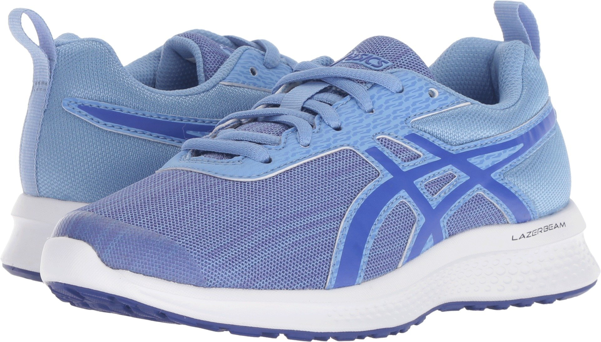 ASICS Kids Girl's Lazerbeam EA (Little Kid/Big Kid) Blue Bell/Imperial 1 M US Little Kid