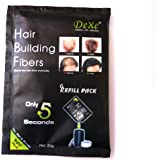 Dark Brown Hair Building Fibres Refill Pack 22g Amazing New Concept to Save Money, Dont Throw Away Your Old Container, Works With ALL Brands