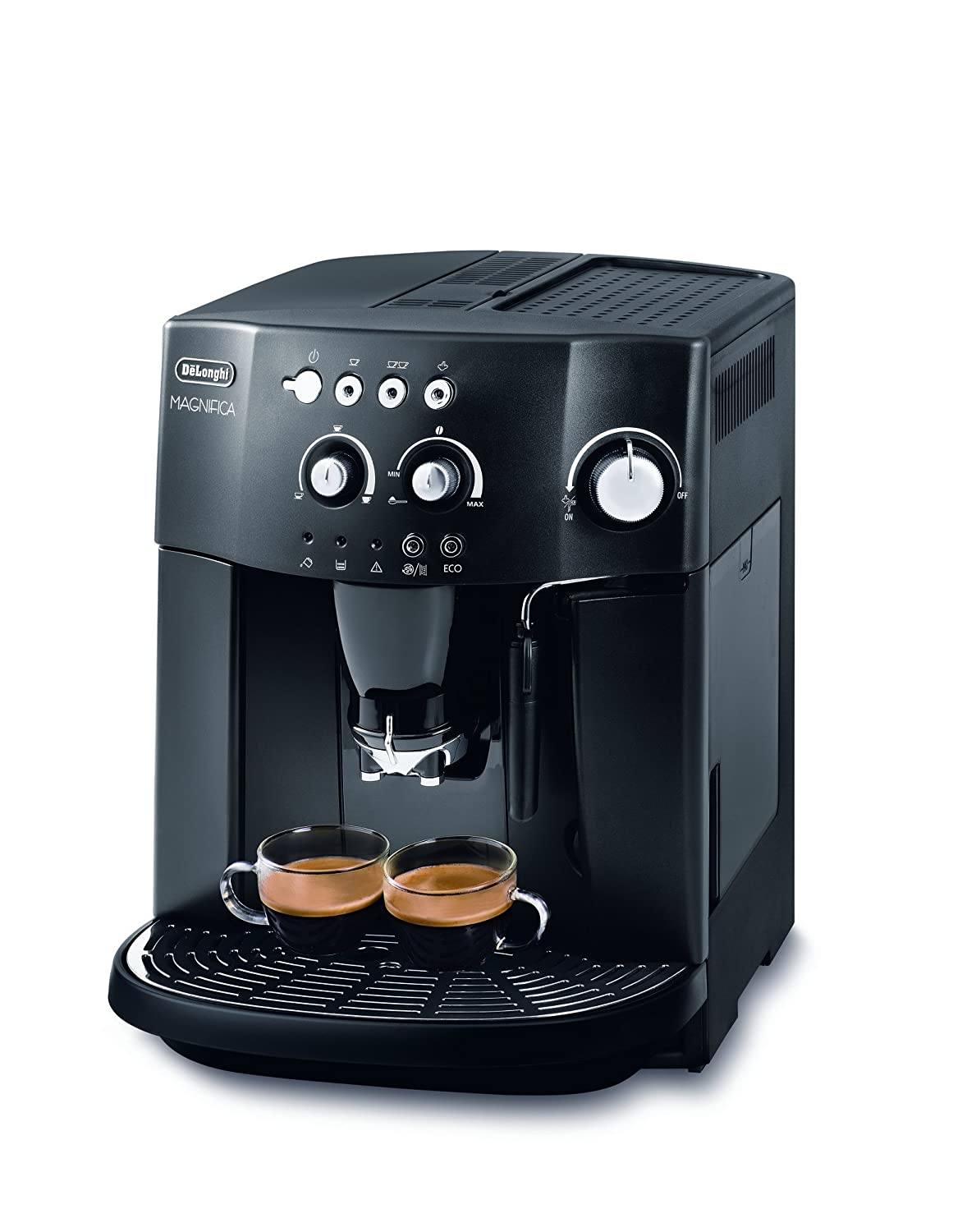 Electronic Test Cases For Coffee Machine delonghi esam4000 b magnifica bean to cup coffee machine 15 bar black amazon co uk kitchen home