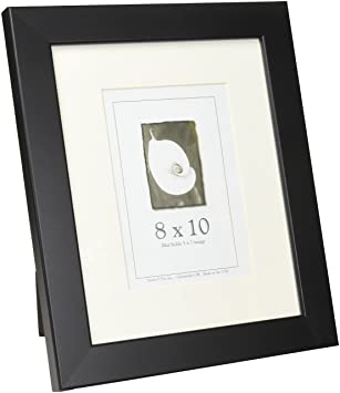 Amazoncom 8x10 Wood Picture Frame Black Made In The Usa